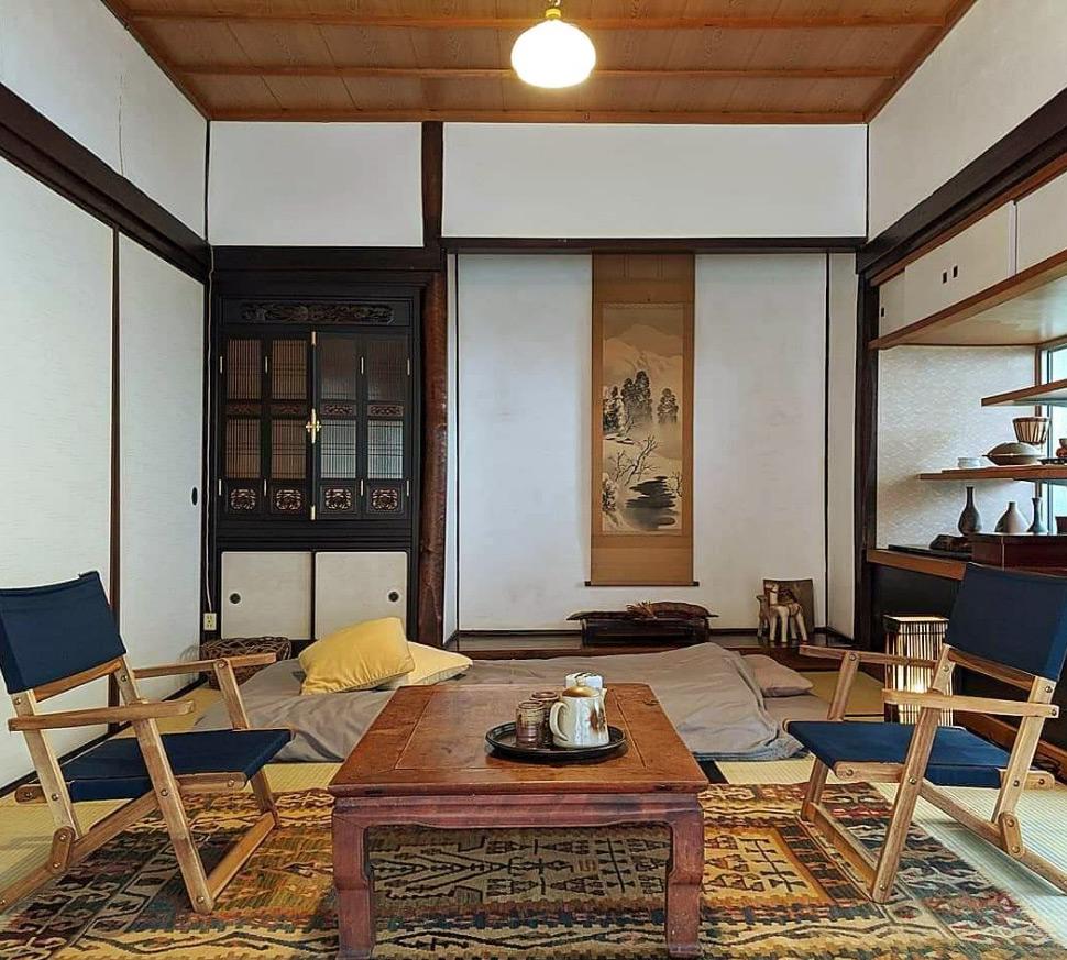 小森のツキノシタの客室