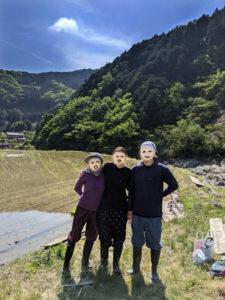 小森のツキノシタの農業体験